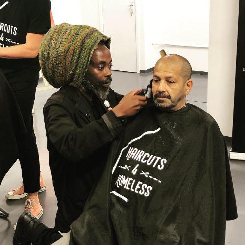 Haircuts 4 Homeless pop-up
