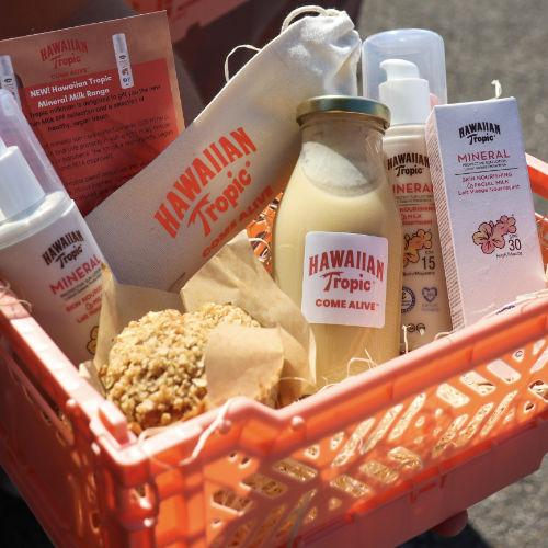 Hawaiian Tropic Mineral Milks launch event